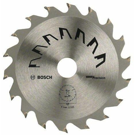 Bosch 2609256860 Précision Lame de scie circulaire 24 dents carbure Diamètre 180 mm alésage/alésage avec bague de réduction 30/20 Largeur de coupe 2,5 mm