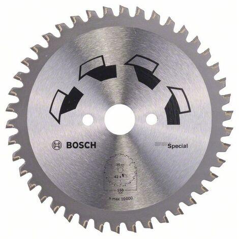 BOSCH 2609256886 Hoja de sierra circular SPECIAL D= 150 mm