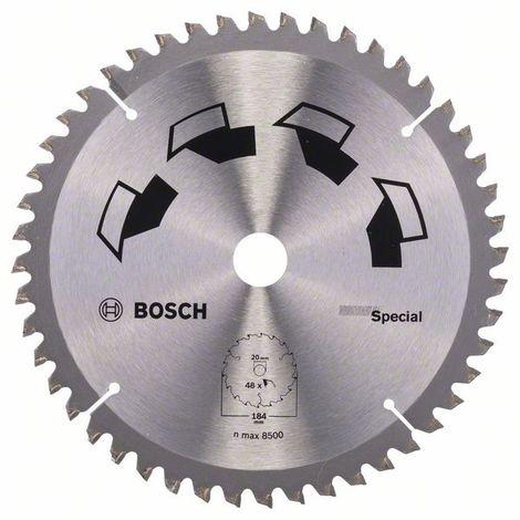 """main image of """"BOSCH 2609256890 Hoja de sierra circular SPECIAL Ø 184 mm"""""""