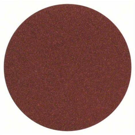 Bosch 2609256B45 Hoja de lija Velcro 125 G120 DIY para lijadoras, amoladora y taladro 5 uds