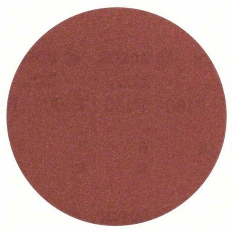 Bosch 2609256B46 Hoja de lija Velcro 125 G180 DIY para lijadoras, amoladora y taladro 5 uds