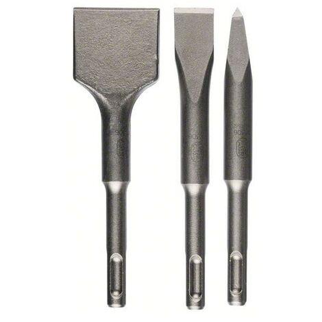Bosch 3 Piece SDS-plus Stubby Chisel Set - 2 608 690 180
