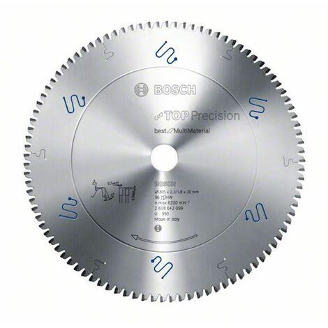 Bosch 305x30x2.3 mm Lame de scie circulaire Multi Material bois-plastique NE 96 dents