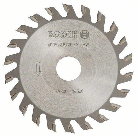 "main image of ""BOSCH 3608641002 Fresas de disco 22, 20 mm 2,8 mm"""