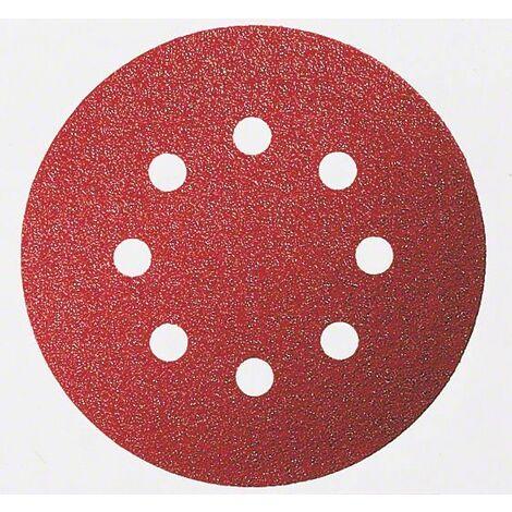 BOSCH 5 disques abrasifs Ø 125 mm Best for Wood