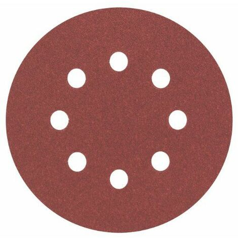 BOSCH 5 disques abrasifs Ø 125 mm Best for Wood (grain 400 __ x 5 ___ abras.best for wood)