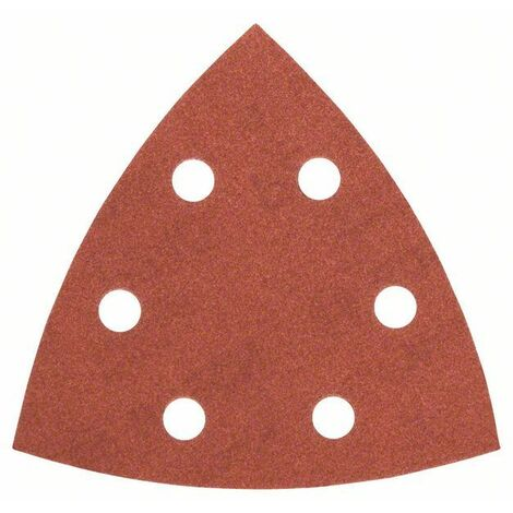 BOSCH 5 feuilles abrasives Red Wood Top