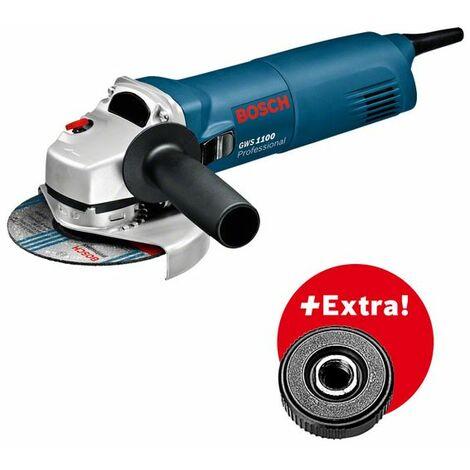Bosch 601822400 GWS 1100 Meuleuse d angle avec SDS Ecrou de serrage rapide