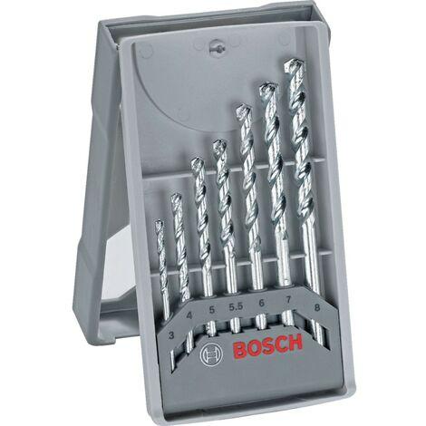 Bosch 7 Piece X-Pro Line Stone Impact Drill Bit Set - 2 607 017 035