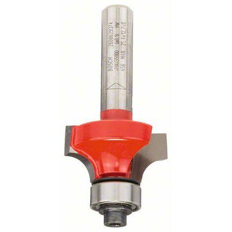 Bosch Abrundfräser 8 mm, D 25,4 mm, R1 6,35 mm, L 12,7 mm, G 55 mm