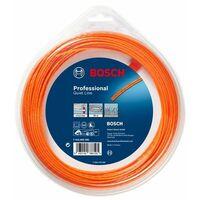 Bosch Accessoires pour débroussailleuses sans fil Fil de fauchage silencieux (2,7 mm x 24 m) - F016800393