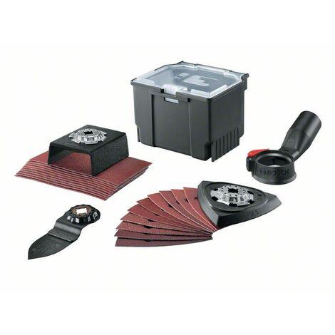 Bosch Accessoires pour outils électroportatifs multifonctions RB, Starlock 24 pcs - 2609256F47