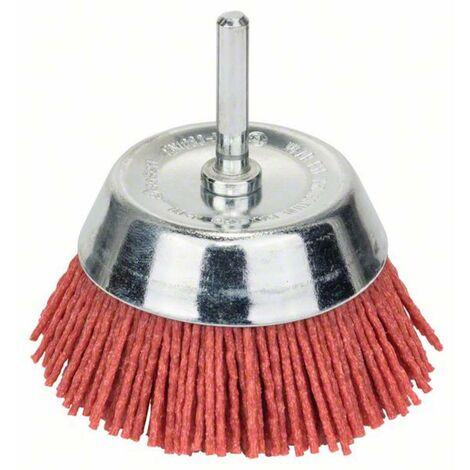 Bosch Accessories Brosse boisseau, fils nylon, 1,1 mm, 75 mm, 4500 tr/ min Fils nylon Diam. tige 6 mm 2608622051 1 pc(s