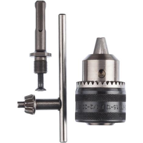 Bosch Adaptateur SDS plus (avec mandrin porte-foret, 1,5 - 13mm, accessoires pour marteau burineur)