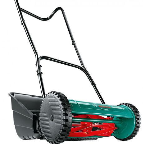 Bosch AHM38G Hand Push Cylinder Lawn Mower 38cm/15in