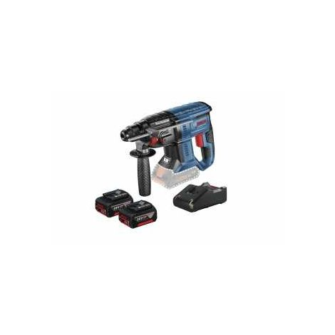 Bosch Akku-Bohrhammer mit SDS plus GBH 18V-20, mit 2 x 4.0 Ah Li-Ion Akku, L-BOXX