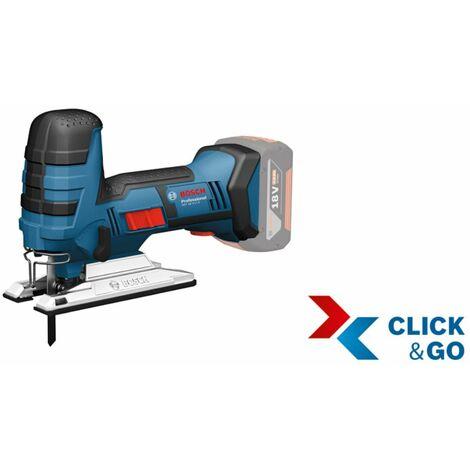 Bosch Akku-Stichsäge GST 18 V-LI S mit 2 x 4,0 Ah LI-ION Akku, L-Boxx