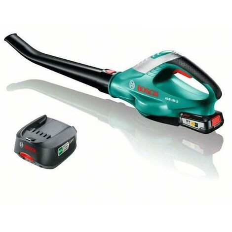 Bosch ALB 18v Li Ion Cordless Garden Leaf Blower ALB18v + 2.5Ah Battery, Charger