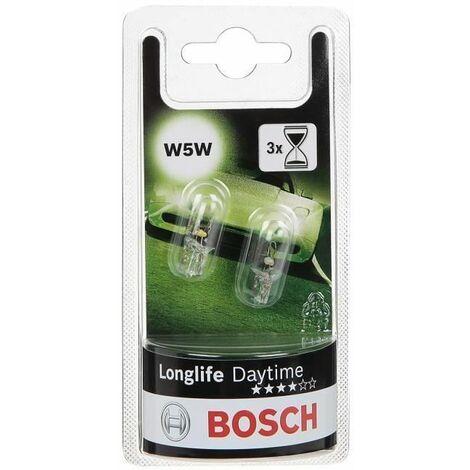 BOSCH Ampoule Longlife Daytime 2 W5W 12V 5W