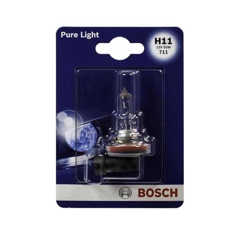 Bosch Ampoule Pure Light 1 H11 12V 55W 684111