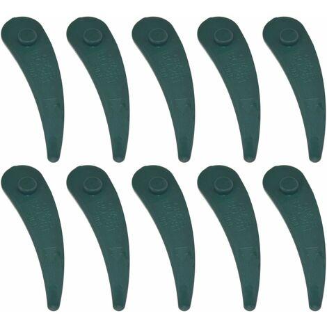 "main image of ""Bosch ART23-18Li Compatible Plastic Trimmer Strimmer Blades Pack of 10"""