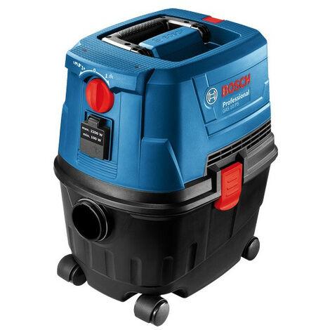 Bosch - Aspiradora de agua y polvo 1100W 270 mbar 53 L/seg - GAS 15 PS