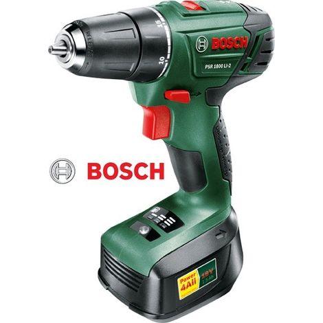 Taladro Bosch atornillador PSR-1800-LI-2
