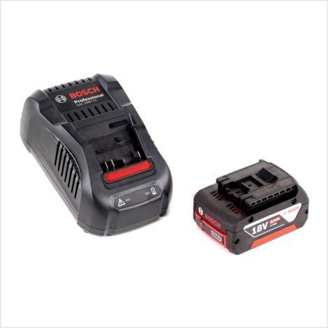 Bosch Basis Set 18 V avec - Batterie 1x GBA 18 V 5,0 Ah Li-Ion + Chargeur GAL 1880 Schnell