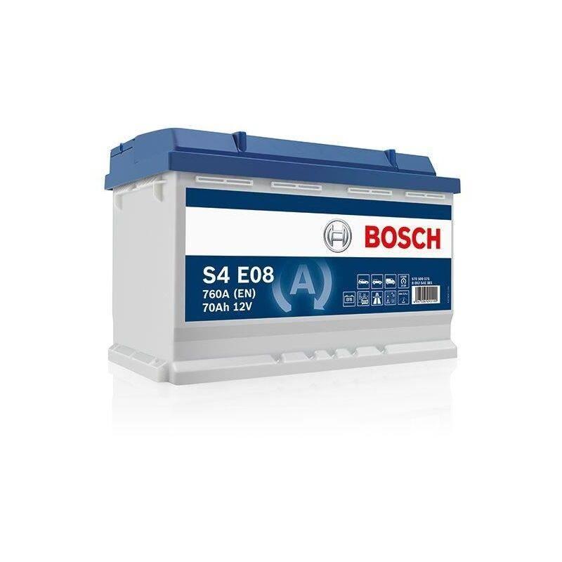 Bosch Batterie Auto Efb S4E08 70Ah/760A 70A/H-760A