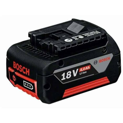 Bosch Batterie coulissante GBA 18 V 4 Ah, Li-Ion