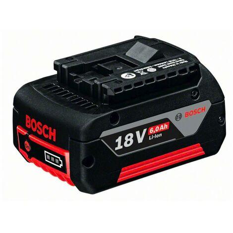 BOSCH Batterie GBA 18 V Li-Ion 6 Ah - 1600A004ZN