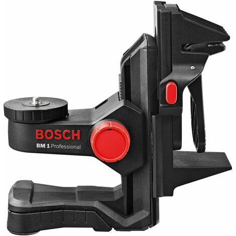 Bosch BM 1 PLUS Soporte universal para láseres con pinza de fijación
