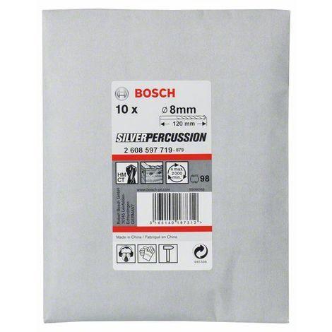 BOSCH - Brocas para hormigón CYL-3 8 x 80 x 120 mm d 7,5 mm