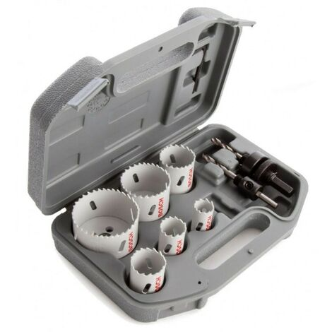 Bosch BSH580804 Bi-Metal Holesaw Set for Electricians 9 Piece