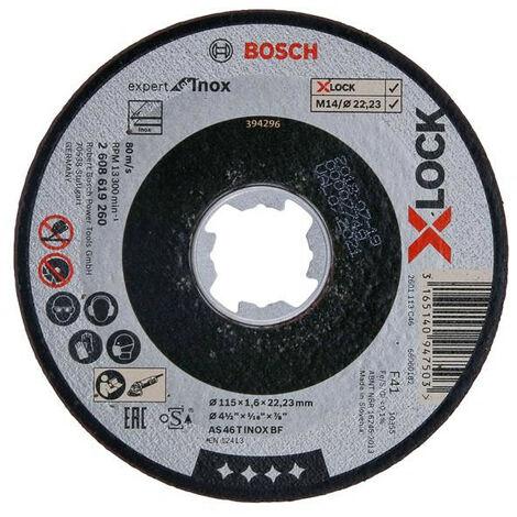 Bosch BSH619260 X-LOCK Expert for Inox Cutting Disc 115 x 1.6 x 22.23mm