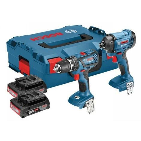 Bosch BSHGSBGDR182 Cordless Twin Pack 18V 2 x 3.0Ah Li-Ion