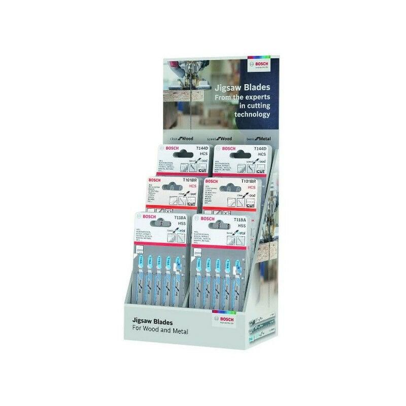 Image of 06159975K8 Jigsaw Blade Display - Bosch