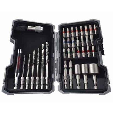 BOSCH Coffret 35 pièces Metal (forets, embouts...) - 2607017328