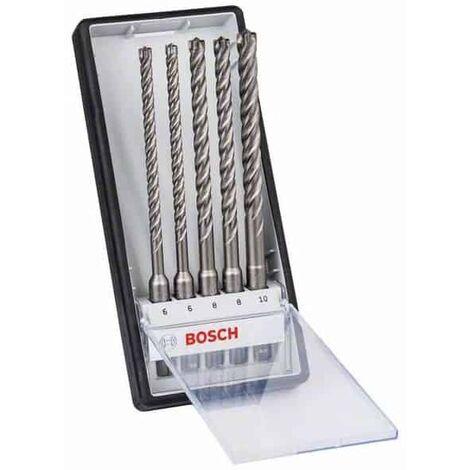 BOSCH Coffret 5 forets Robust line SDS-Plus-7X - 2608576200