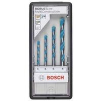 BOSCH coffret RobustLine 4 forets MultiConstruction - 2607010521