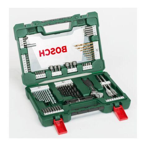 Bosch premium set de perçage et vissage 105 pièces dans la valise