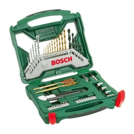 Bosch Coffret X-Line titane de 50 pièces
