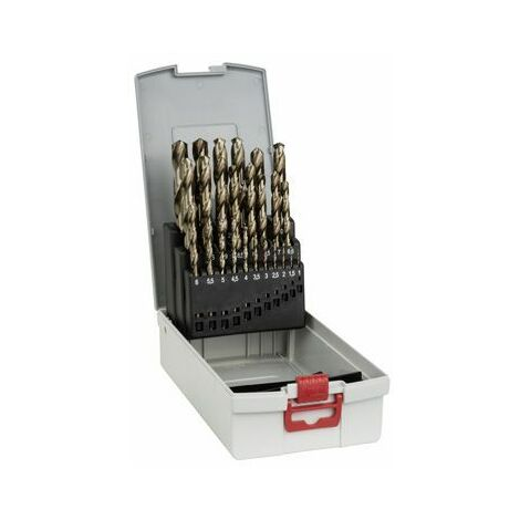 """main image of """"Bosch Coffrets de forets à métaux rectifiés HSS-Co (cobalt) - 2608587018"""""""