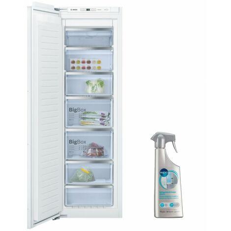 BOSCH Congélateur armoire intégrable Froid ventilé 212L Autonomie 8h No-Frost - Blanc