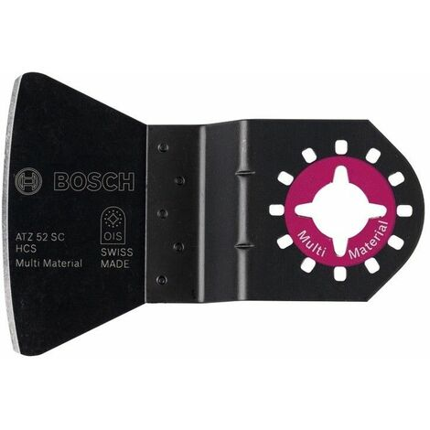 Bosch Coupe-joint ATZ 52 SC pour outils multi-fonctions, rigide, 52x26mm, 10 pièces - 2608664487