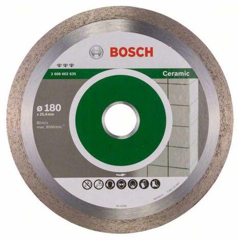 Bosch Diamanttrennscheibe Best for Ceramic, 180 x 25,40 x 2,2 x 10 mm
