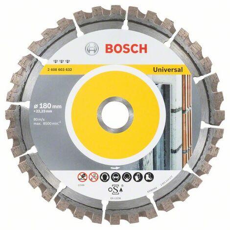 Bosch Diamanttrennscheibe Best for Universal 115-450 mm Mauerwerk Ziegel