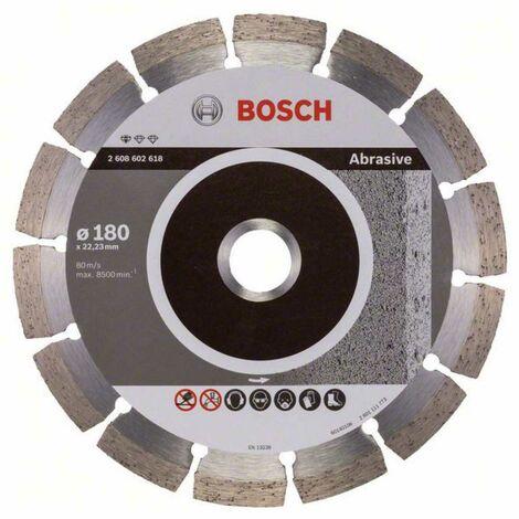 Bosch Diamanttrennscheibe Standard for Abrasive, 125 x 22,23 x 6 x 7 mm 2608602616