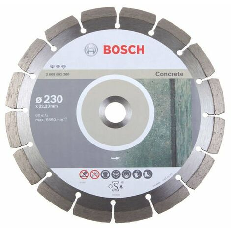 Bosch - Diamond Especial duro y molinos de hormigón armado Ø150mm