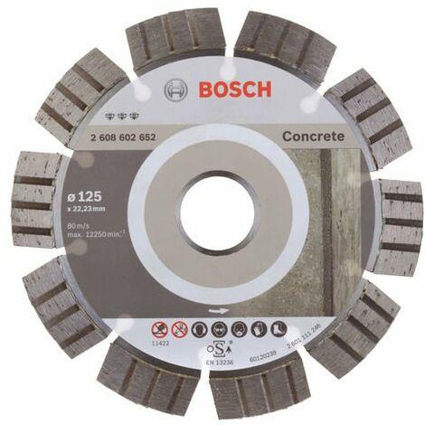 BOSCH - Disco corte diamante Best Concrete 180x22,23x2,4x12